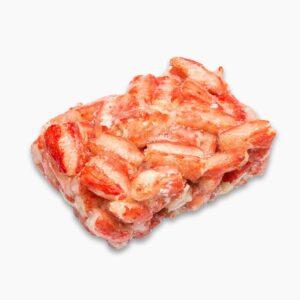 Мясо краба колено блок 1 кг