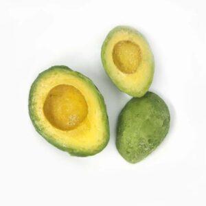 Авокадо замороженный половинки