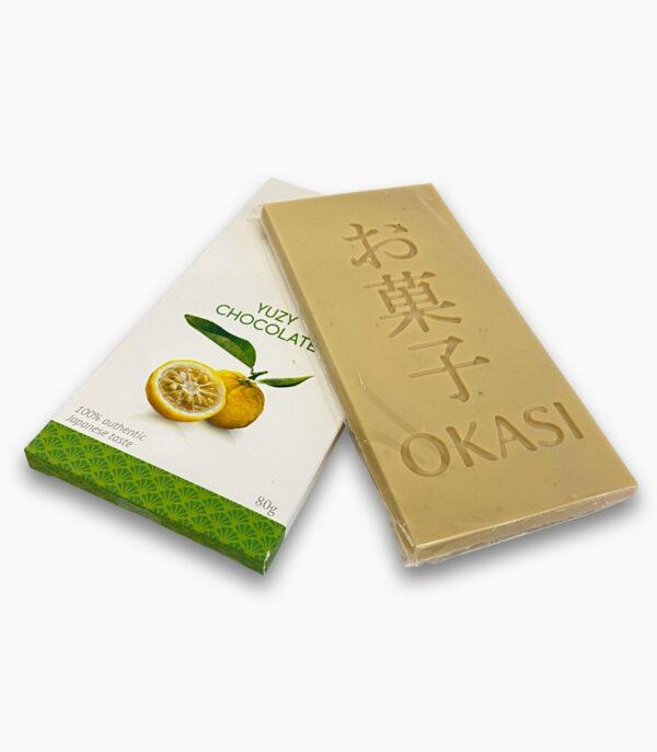Шоколад с юзу Okasi
