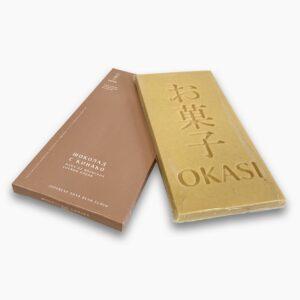Шоколад с кинако Okasi