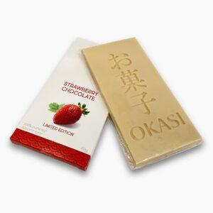 Шоколад Okasi с клубникой