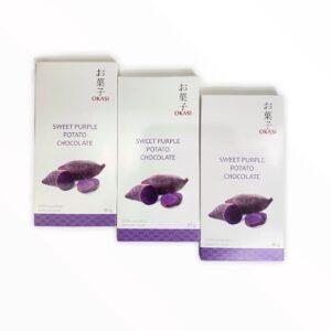 Шоколад с бабатом фиолетовый Okasi